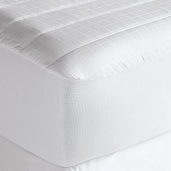 Microdenier Polyester Filled with Channel Mattress pad