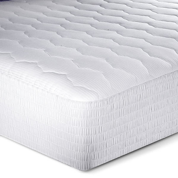 Microdenier Polyester Filled with Wave-form Mattress pad